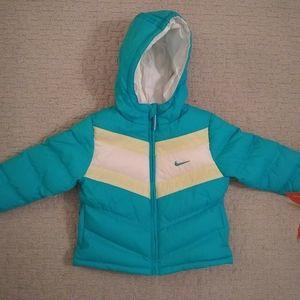 NWT Nike reversible puffer jacket
